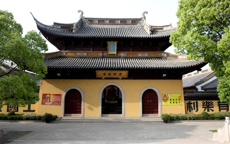 古风寺庙风景图片