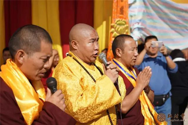 尼泊尔满愿大佛塔开光典礼